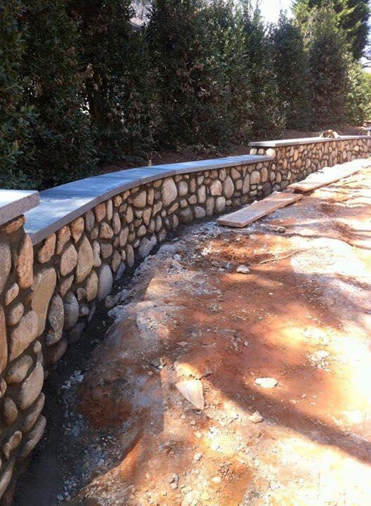 river_stone_landscape_wall