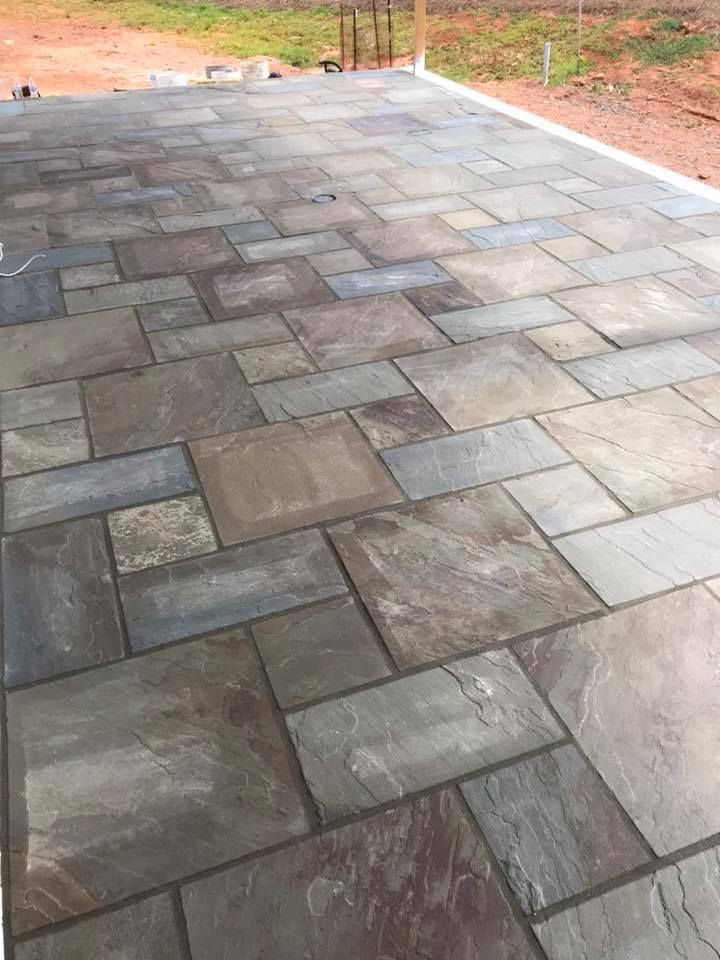 Bluestone patio 3
